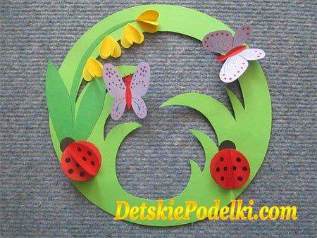Бабочка из бумаги своими руками из цветной