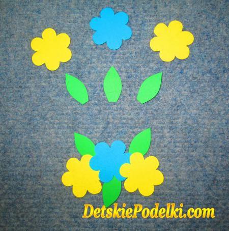 значки цветочки: