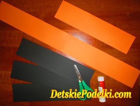 поделки из бумаги на хеллоуин