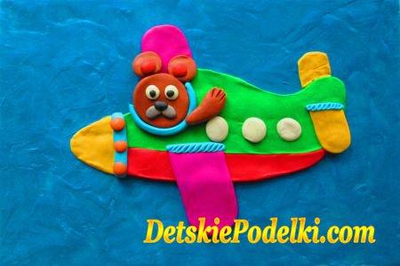 детские поделки из пластилина