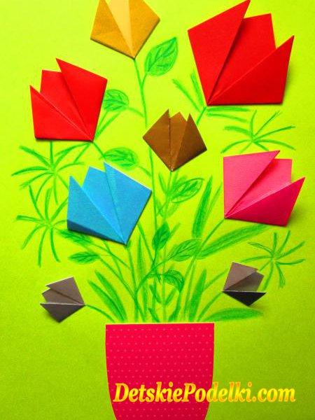Оригами аппликация что это такое