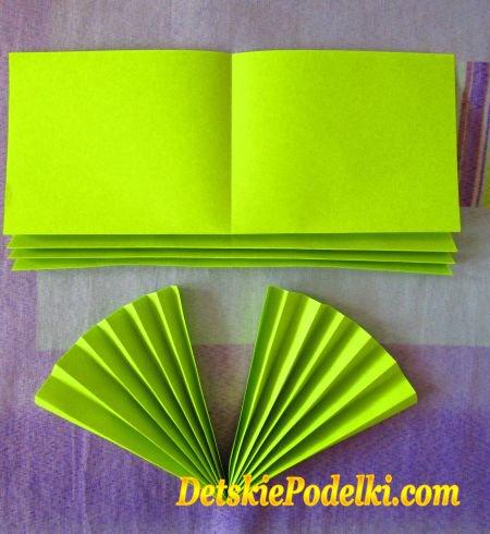 простые поделки из бумаги
